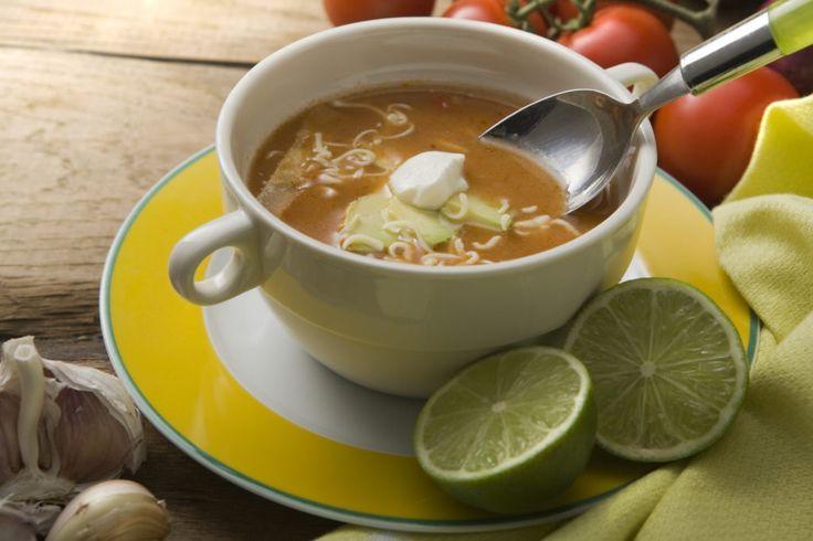 Recipe of the Day ~ Vegan Tortilla Soup (VIDEO)  #VeganTortillaSoup #souprecipes #vegansoups #tortillasoup #veganrecipes #healthyrecipe #VeganMexicanCuisine #recipeoftheday #goodnessg