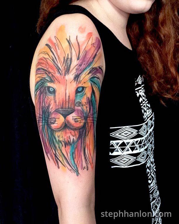 Tattoos and Modern Art – Les tatouages de Steph Hanlon (image)