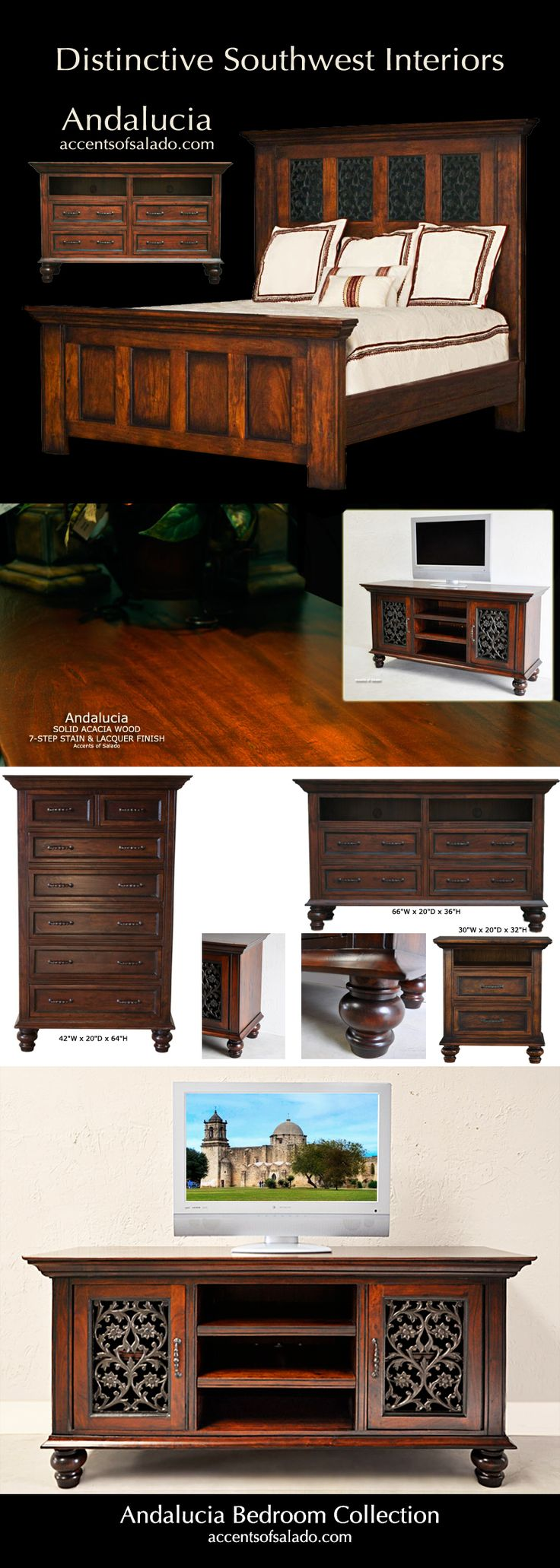 367 best images about hacienda furniture store southwest - Southwest style bedroom furniture ...