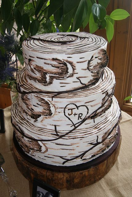 Birch tree cake. How Sweet It Is, Duluth.