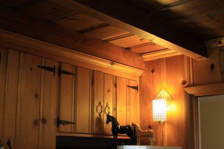 mid-century-knotty-pine-kitchen-cabinets