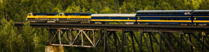 Denali Star Route | Alaska Train Travel From Anchorage To Fairbanks