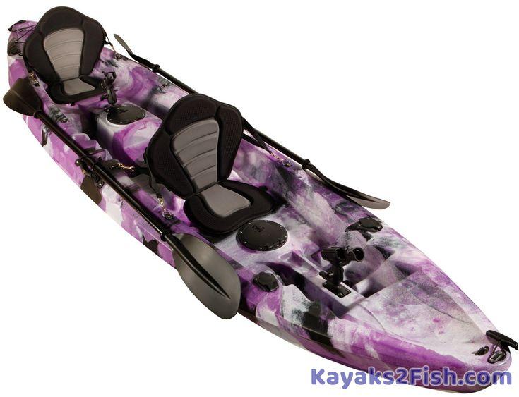 25 trending kayak fishing ideas on pinterest fishing for Two seater fishing kayak