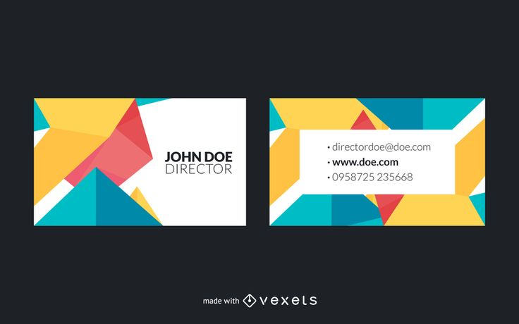 Trendy business card creator in different swappable designs for you to choose the one that best fits your style. Edit text and add other elements. Enjoy