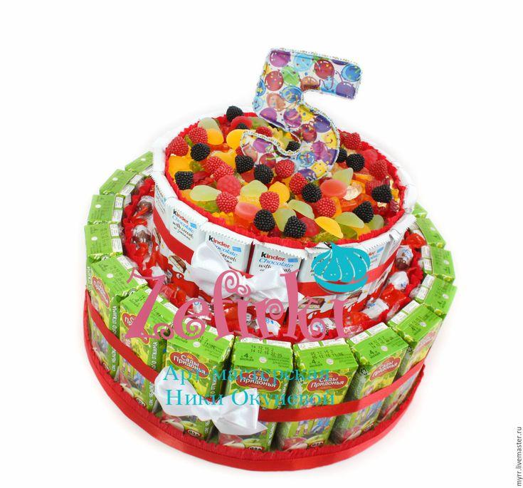 торт из конфет в детский сад - Поиск в Google