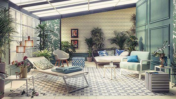 Oltre 25 fantastiche idee su giardino d 39 inverno su - Arredare giardino d inverno ...