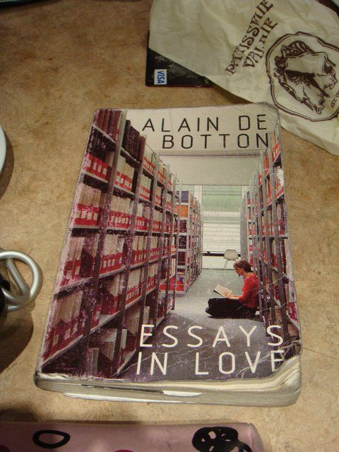 essay on love alain de botton On love by alain de botton anybody can write a love story but to write a love  story incorporating such disparate figures as groucho marx, wittgenstein and.