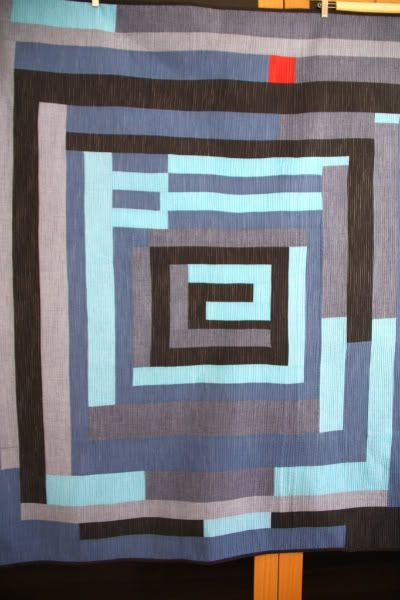 Gee's Bend in blues quilt at Anacraftsbcn