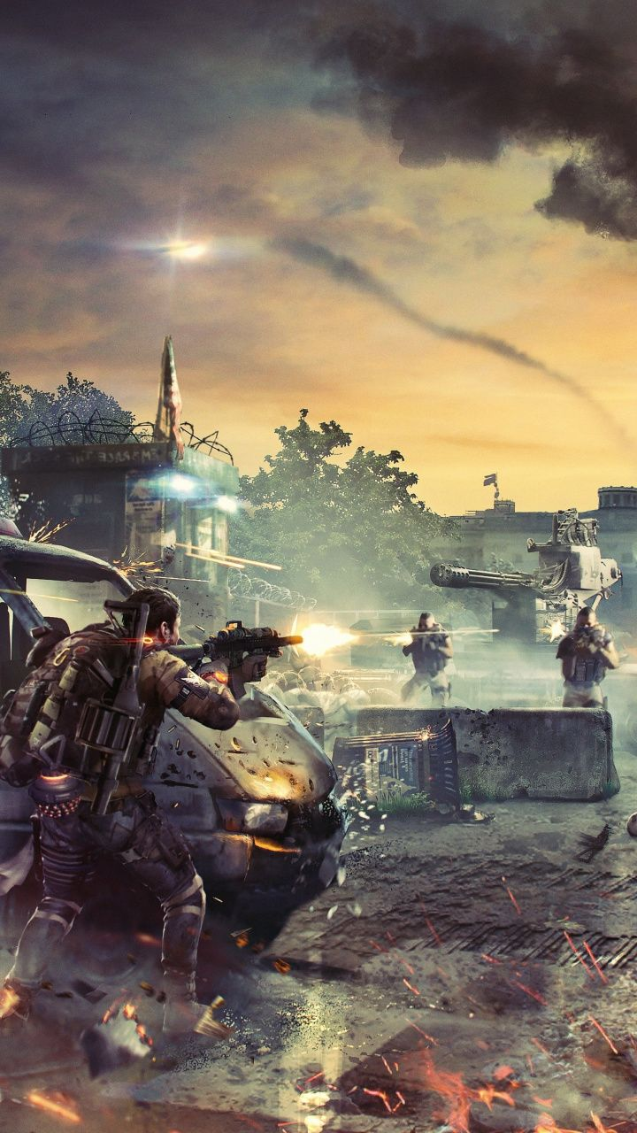 Tom Clancy S The Division 2 18 Battlefield Video Game 7x1280 Wallpaper Tom Clancy The Division Tom Clancy Division