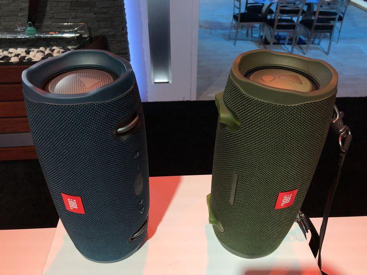 TRANSMISORES DE AUDIO Las JBL Xtreme 2 ofrecerán más y mejor sonido La segunda generación de la bocina portátil Bluetooth JBL ha actualizado los controladores y un diseño totalmente resistente al agua. Se envía esta primavera.