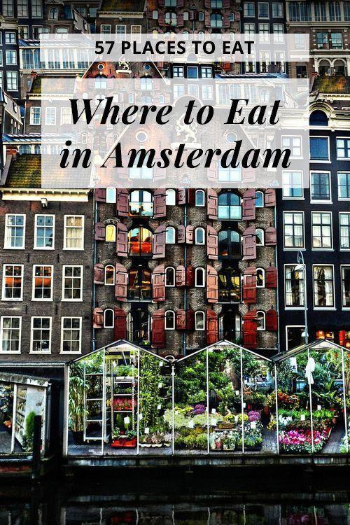 57 dei posti migliori e più economici per mangiare ad Amsterdam