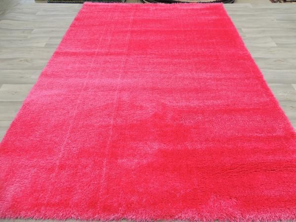 Super Soft Candy Pink Shaggy Size: 160 x 230cm