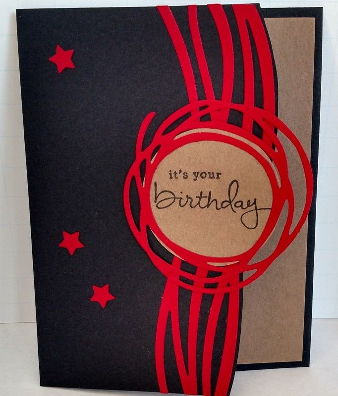 Masculine Birthday by donnaks - Cards and Paper Crafts at Splitcoaststampers