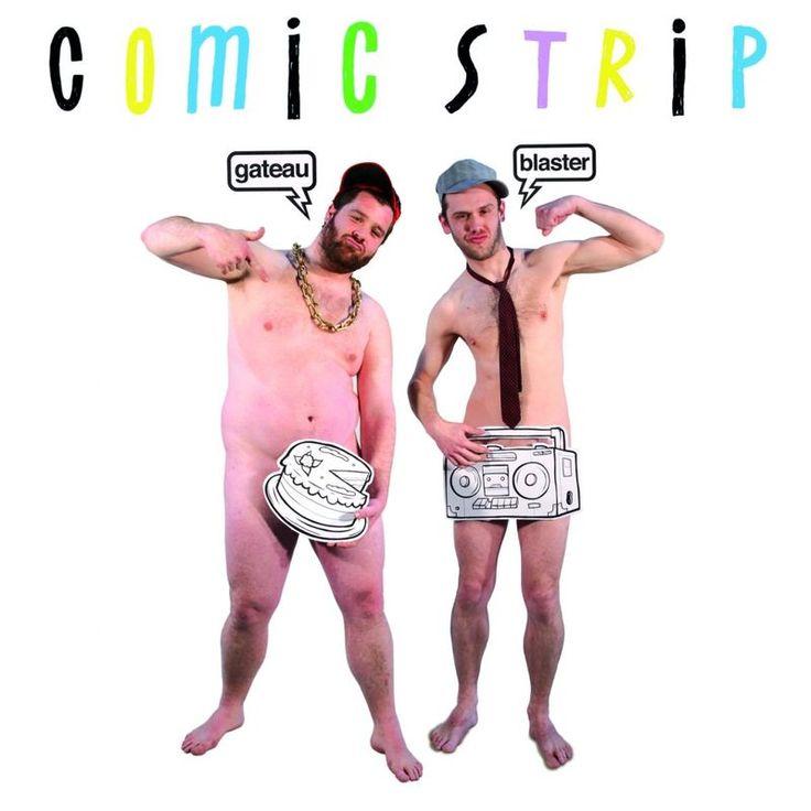 Tu viens à la soiree by comic strip - Gateau Blaster