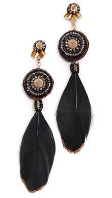 Deepa Gurnani Shushannax Earrings   SHOPBOP