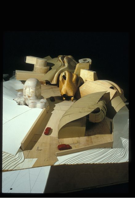 Frank Gehry, 'Lewis Residence Final Model, unbuilt, Lyndhurst, Ohio,' 1989-1995, Los Angeles County Museum of Art