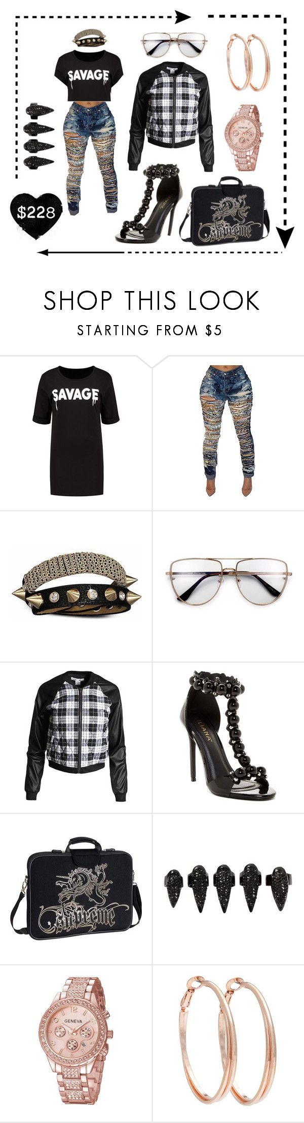"""Chicago Street style #360"" by missactive-xtraordinary ❤ liked on Polyvore featuring Bling Jewelry, Sans Souci, Liliana, Laurex, Retrò and Alexa Starr"