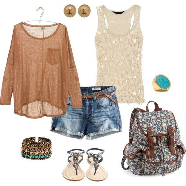So cute...Back To Schools, Fashion, Summer Outfit, Day Outfit, Clothing, Schools Outfit, Cute Outfit, Bohemian Style, Spring Outfit
