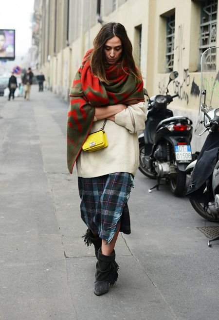Homeless chic with Chanel || Tommy Ton Shoots Street Style at the Spring 2014 Couture Shows