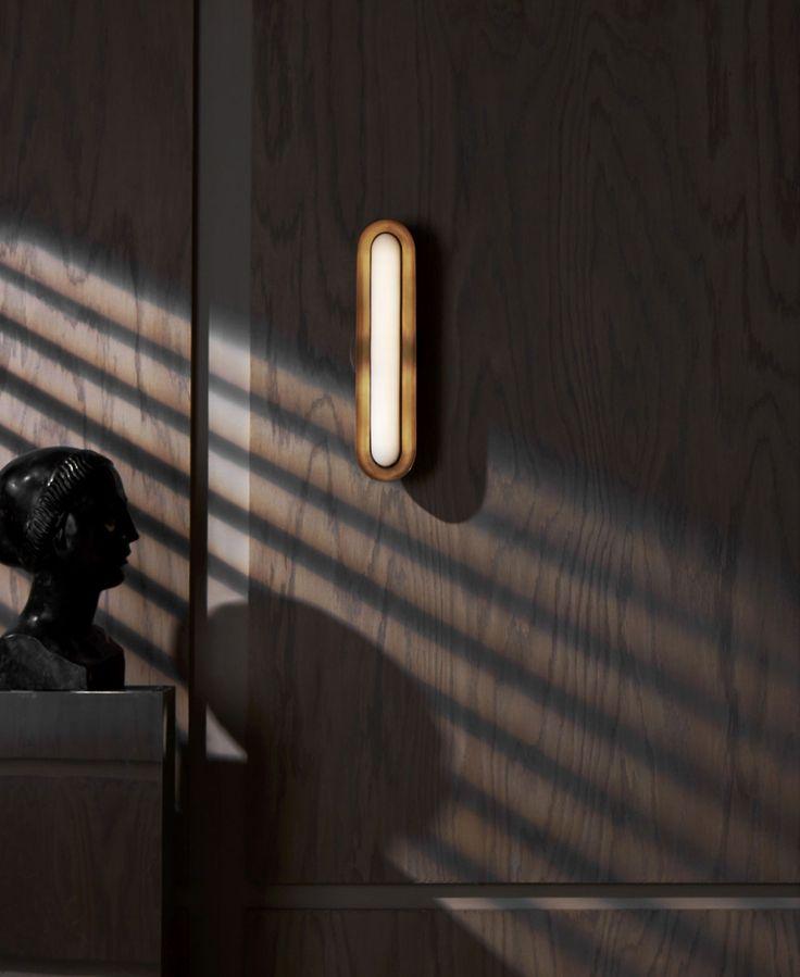 CIRCUIT wall lamp by APPARATUS studio.