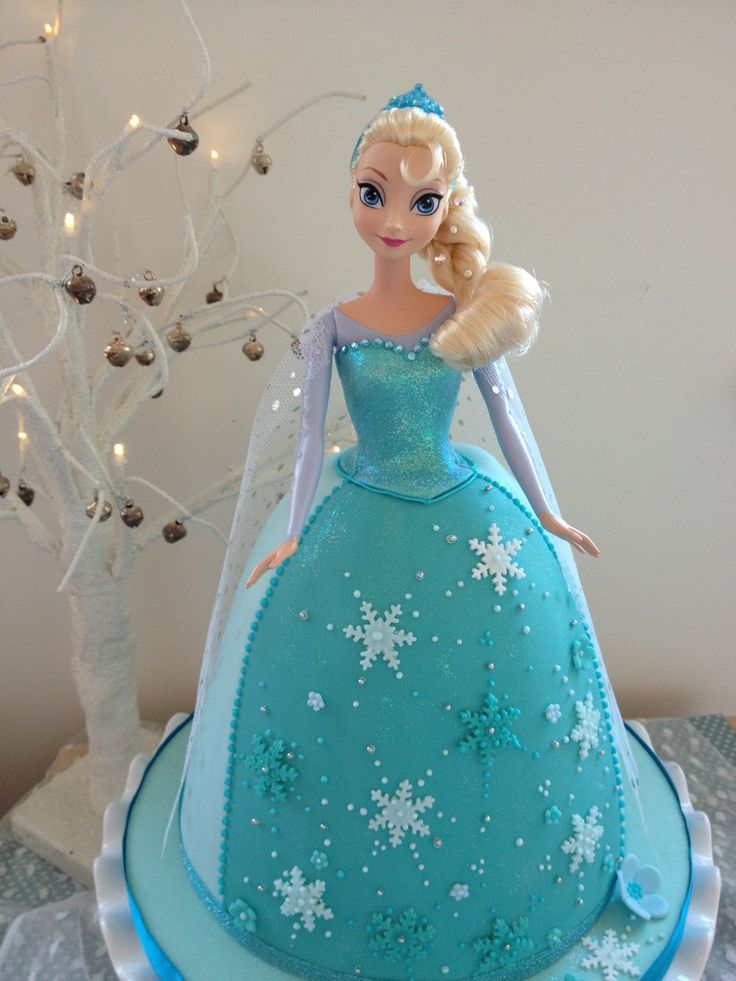 Best 25 Elsa doll cake ideas on Pinterest Elsa cakes Frozen
