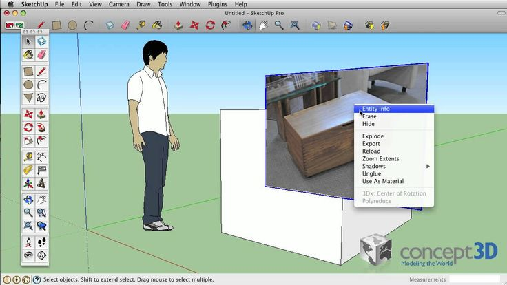 Sketchup Tips And Tricks Image Texture Matched Photo Import