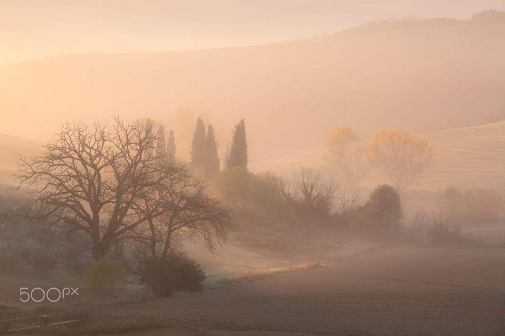 Sunrise at countryside landscape by Nick Khoroshkov on 500px