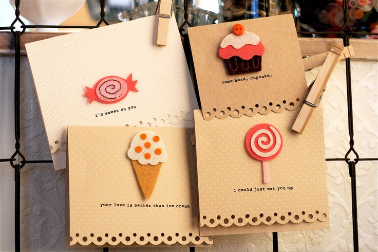 cute handmade cardsCandies Cards, Cards Ideas, Crafty Time, Creative Ideas, Diy Crafts, Handmade Cards, Creative Handmade, Greeting Cards, Cards Candies