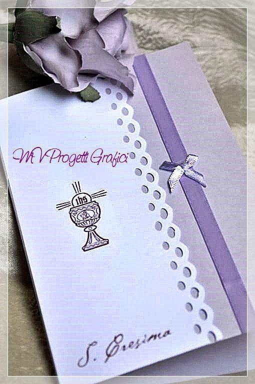 BIGLIETTI SCRAP SANTA CRESIMA, by Progetti Grafici per Matrimoni ed Eventi, 2,99 € su misshobby.com