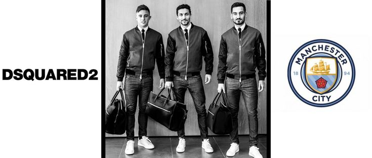 DSquared2 Become Official Fashion Partner for Manchester City FC