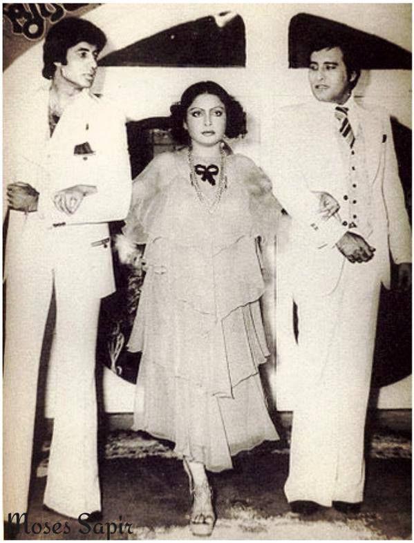with amitabh and rakhee