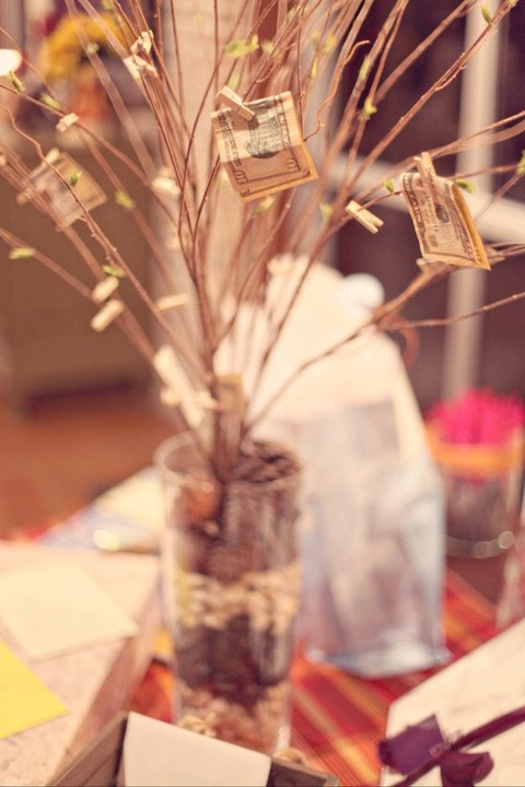 I love this idea for a wedding! And its rustic just the way I like it!