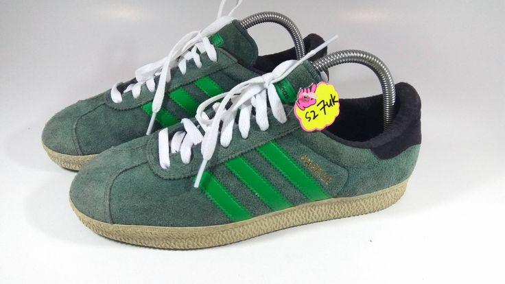 Excited to share the latest addition to my #etsy shop: Vintage Rare Adidas Gazelle Green Stripe Rare Hip Hop Wear. http://etsy.me/2DUpxEw #clothing #shoes #green #backtoschool #thanksgiving #adidasshoes #adidasgazellegreen #adidasgreen #greenrare