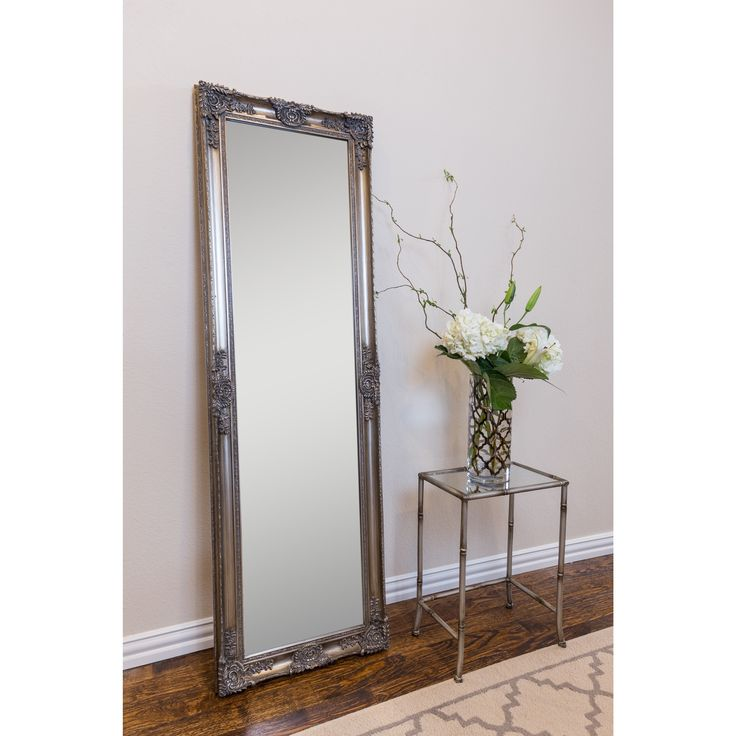Selections by Chaumont Mayfair Belle Full Length Wall Mirror (Satin - Champagne (Beige))