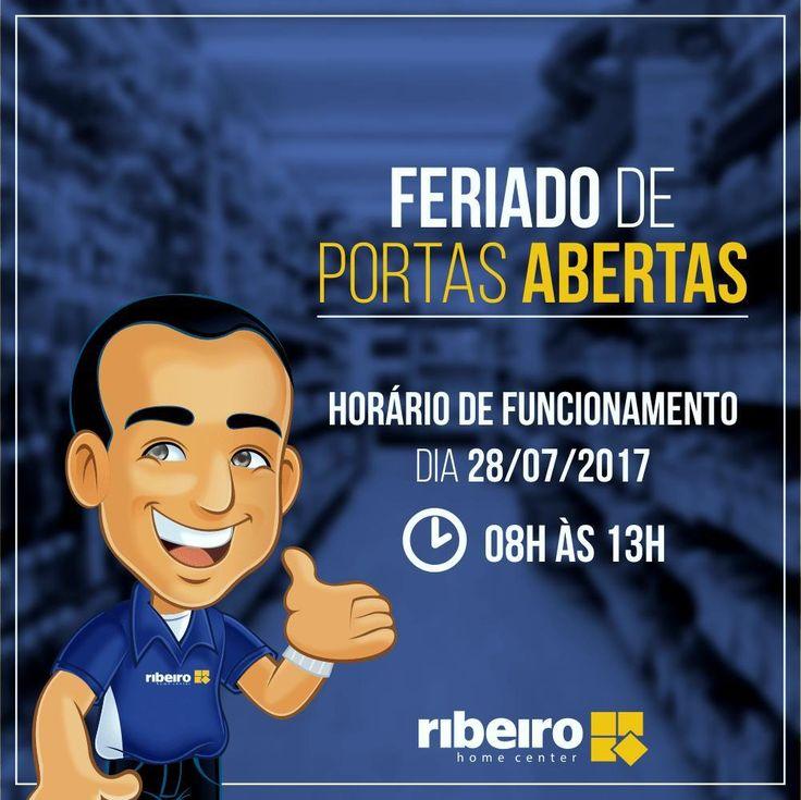 Temos uma ótima notícia! Iremos funcionar amanhã! �� Horário de funcionamento: 08h às 13h  Conte com a gente para fazer o projeto do seus sonhos, se dá pra imaginar, dá pra realizar! �� Ribeiro Home Center - Estrada de ribamar - Maiobão �� Ligue agora: (98) 3274-5086  Saiba mais: www.rederibeiro.com.br  #VemPraCa #Maiobao #SaoLuis #PrecoBaixo #Promocao #Ribeiro #Construcao #inspiracao #decoracao #decor #arquitetura #banheiro #casashow #casalinda…