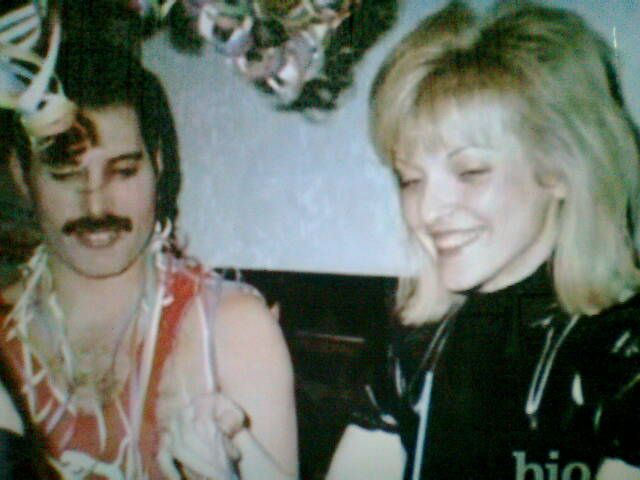 Photo0210 Freddie Mercury n; his ex gf Mary Austin... by liliana_romania2006, via Flickr