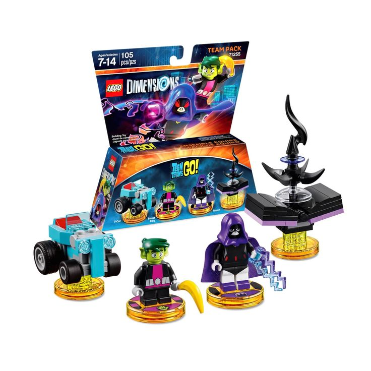 LEGO Dimensions 71255: Teen Titans Go! Team Pack. Released 2017