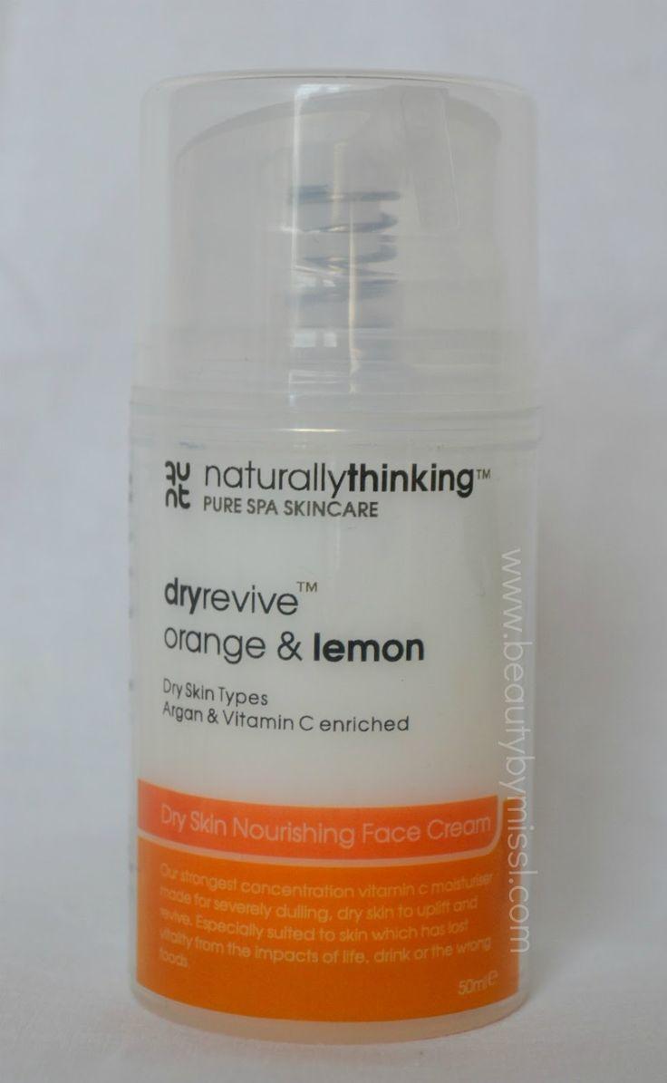 Naturally Thinking DryRevive Orange, Lemon & Vitamin C Argan Face Cream