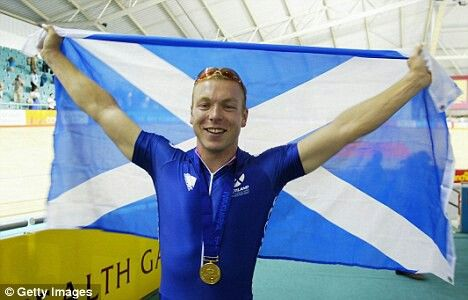 SirChris Hoy, multiple world and Olympic champion track cyclist, was born and raised in Edinburgh