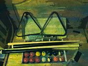 "New artwork for sale! - "" Billiards Pool Table Cue Snooker  by PixBreak Art "" - http://ift.tt/2mB0JbD"