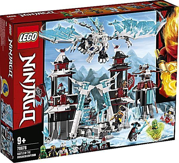 Lego Ninjago 70678 Festung Im Ewigen Eis Bestellen Weltbild De In 2020 Lego Ninjago Lego Und Samurai
