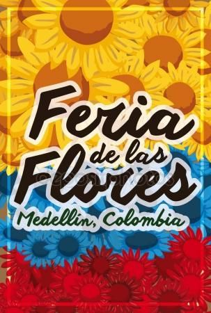 Beautiful Patriotic Floral Design for Colombian Festival of the Flowers