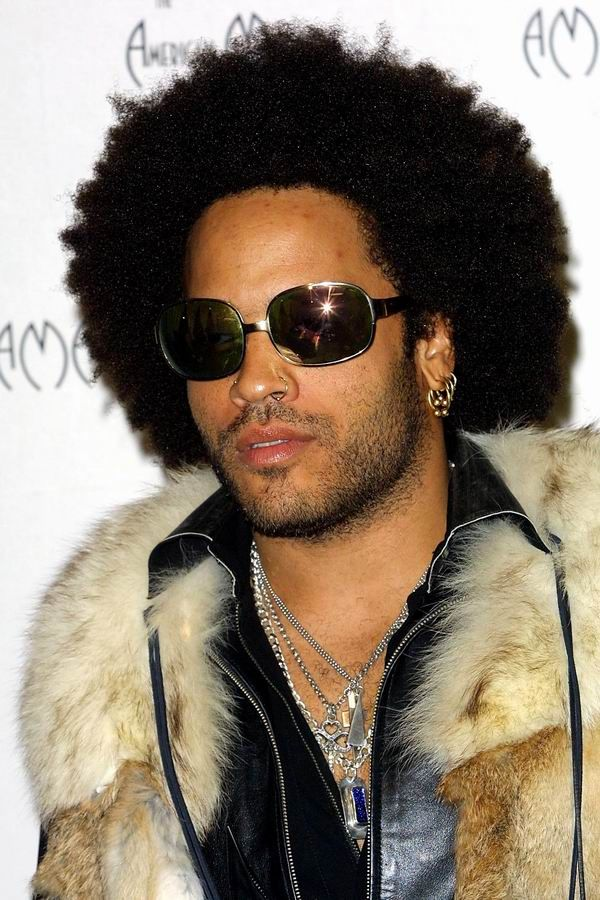 Lenny Kravitz Big Afro