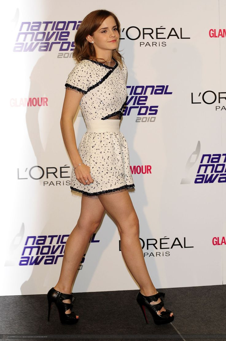 Emma Watson National Movie Awards 2010 in London