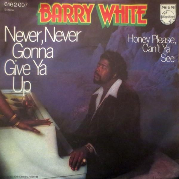 Ascoltando Barry White Never Never Gonna Give You Up Testo E