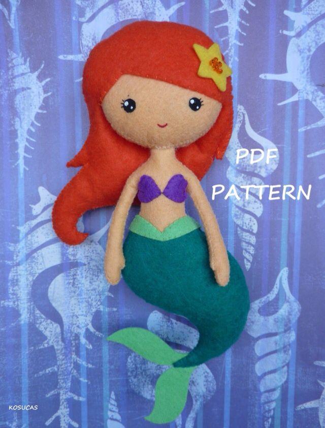 Mermaid felt