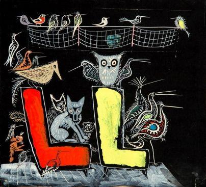 Józef Wilkoń - Leśny lot, 1963