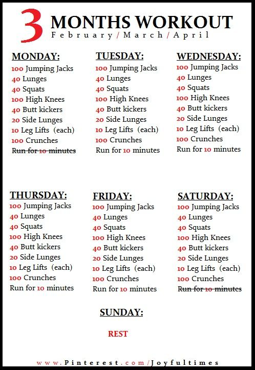 Best 25+ Daily workout plans ideas on Pinterest Daily workout - workout sheet