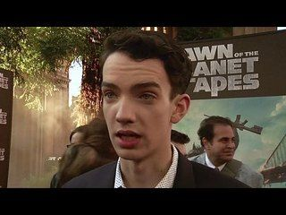 Dawn of the Planet of the Apes: Kodi Smit-McPhee Premiere Interview --  -- http://www.movieweb.com/movie/dawn-of-the-planet-of-the-apes/kodi-smit-mcphee-premiere-interview