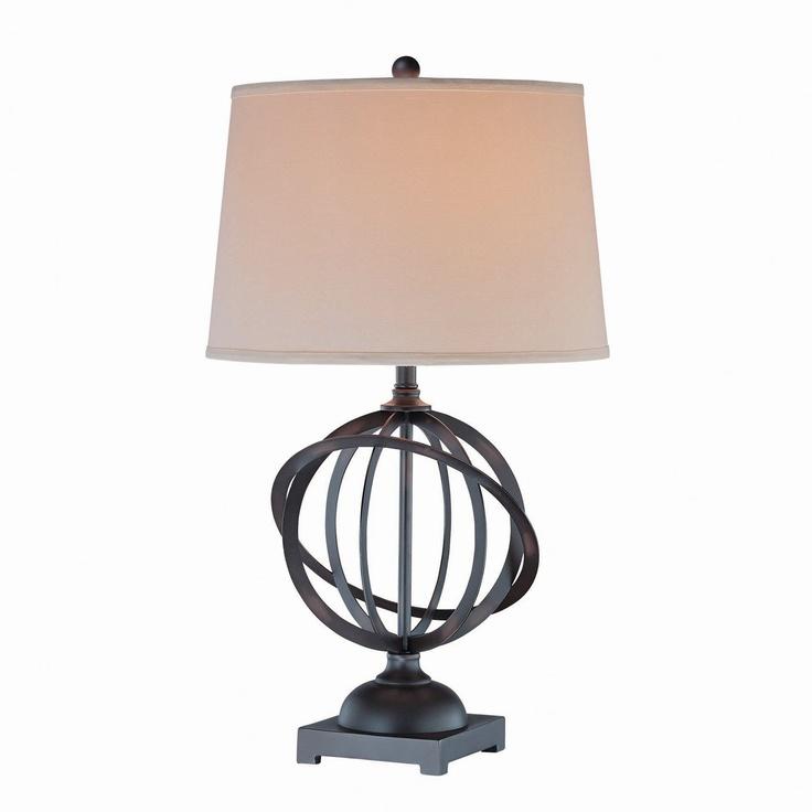 Lite Source LS 21350 Sphre Table Lamp Dark Bronze